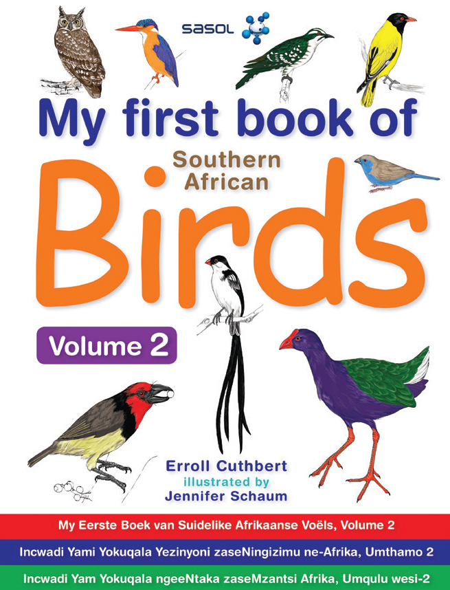 My First Book of Southern African Birds - Volume 2